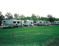 Rv's Parked on Site
